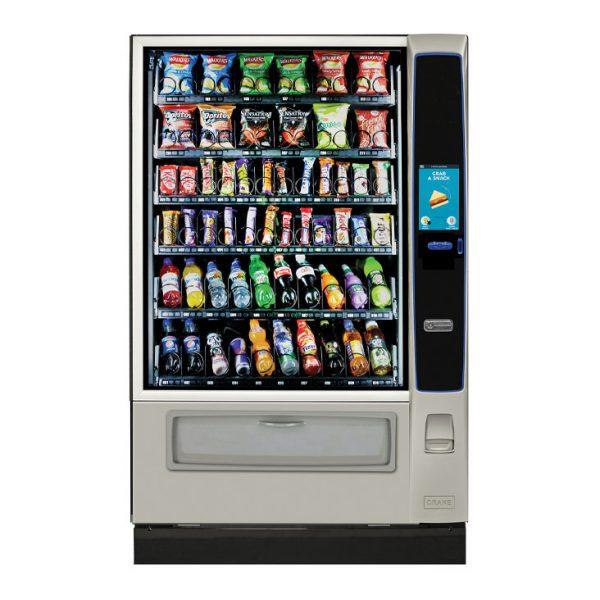 Snack vending machine - Crane Merchant Media 6 from Care Vending
