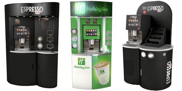 Bean to Cup Coffee Stations from Care Vending