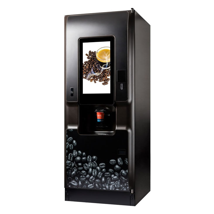 Crane Coti hot drinks bean to cup coffee vending machine